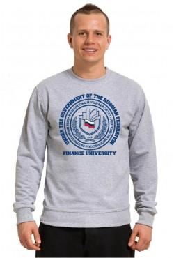 Свитшот тонкий 250 гр Финансовый университет (25 цветов на выбор)