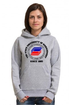 Толстовка с капюшоном ГУУ Государственный университет управления (25 цветов на выбор)