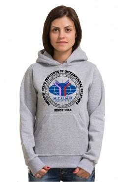 Толстовка с капюшоном МГИМО Московский государственный институт международных отношений (25 цветов на выбор)