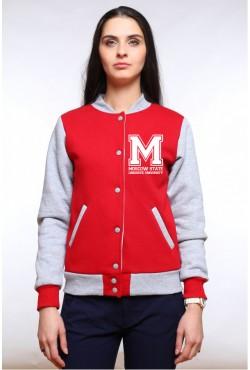 Колледж куртка МГЛУ Московский государственный лингвистический университет (5 цветов на выбор)