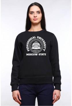 Свитшот плотный МПГУ Московский Педагогический Государственный Университет (25 цветов на выбор)