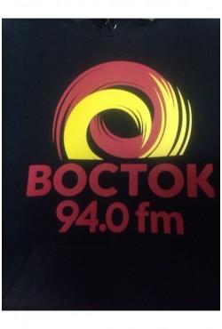 Толстовки с нанесением логотипа для радиостанции Восток-ФМ