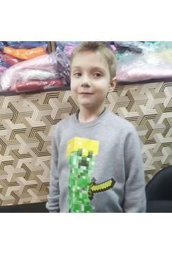 Детский свитшот с полноцветной печатью