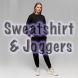 Sweatshirt Classic & Joggers Sport Suit