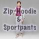 Zip-Hoodie Classic & Sportpants