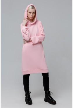 Dress Hoodie Pink  - Платье-худи розовое!