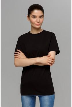 Черная футболка унисекс