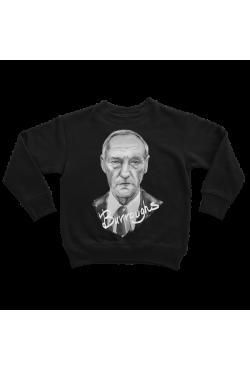 Оверсайз-худи, толстовка, свитшот, футболка или сумка шоппер с портретом Уильяма Берроуза