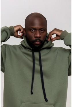 Rifle Green color hoodie OVERSIZE  - Болотная Толстовка Оверсайз