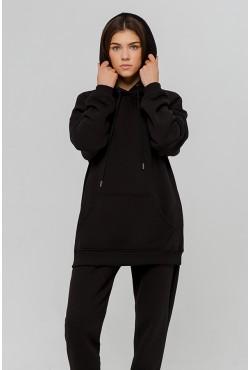 Jogging suit OVERSIZE BLACK  - Черный спортивный костюм Оверсайз