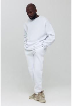 Jogging suit OVERSIZE SWEATSHIRT WHITE  - Белый спортивный костюм Оверсайз