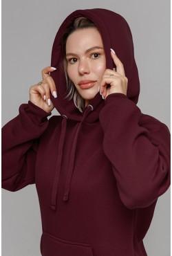 Premium Bordo Hoodie Unisex  Толстовка премиум качества  «Бордо» 360гр/м.кв