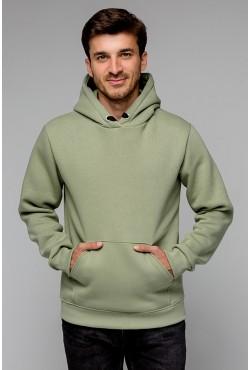 Premium Hoodie «Pistachio» Unisex  Толстовка премиум качества Фисташковая 340гр/м.кв