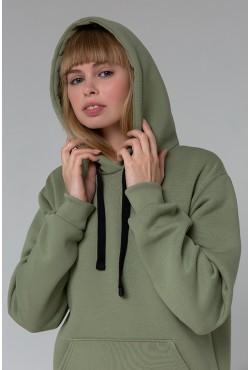 Premium Hoodie «Pistachio» Unisex  Толстовка премиум качества Фисташкового цвета 340гр/м.кв