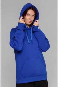 Premium Hoodie Royal Blue Unisex  Толстовка премиум качества цвет Насыщенный Синий 340гр/м.кв