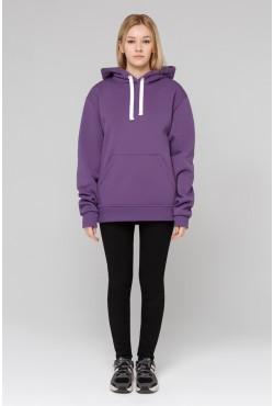 Premium Hoodie Violet Unisex  Толстовка премиум качества цвет «Фиолет» 340гр/м.кв