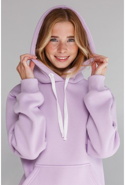 Premium Hoodie Lavender Unisex  Толстовка премиум качества  «Лаванда» 340гр/м.кв