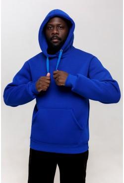 Premium Hoodie «Royal Blue» Unisex  Толстовка премиум качества Ярко-Синяя 340гр/м.кв