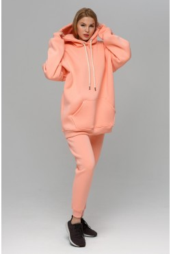 """Jogging suit OVERSIZE  """"Peachy"""" color  - Спортивный костюм Оверсайз цвет Персиковый"""
