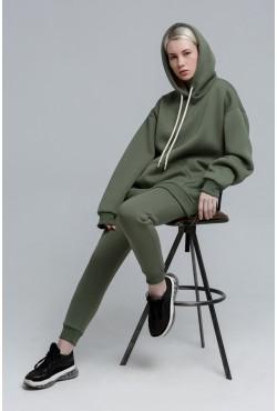"""Jogging suit OVERSIZE  """"Rifle Green"""" color  - Спортивный костюм Оверсайз цвет Болотный"""