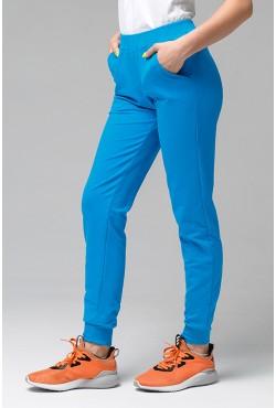 Джоггеры Легкие   Бирюзовые женские спортивные брюки (без начеса)