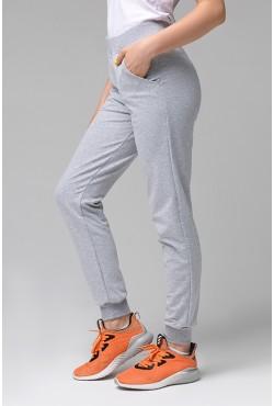 Джоггеры Легкие | Серые женские спортивные брюки (без начеса)