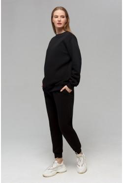 Winter Sport Suit Sweatshirt & Joggers BLACK
