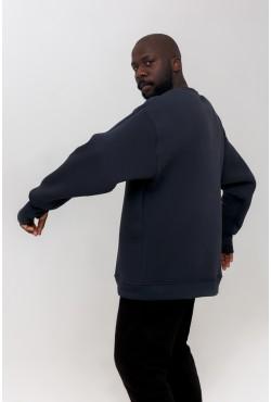 Lime color OVERSIZE sweatshirt  -  Свитшот Оверсайз Графит