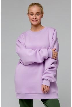 Lavender color OVERSIZE sweatshirt  - Лавандовый Свитшот Оверсайз
