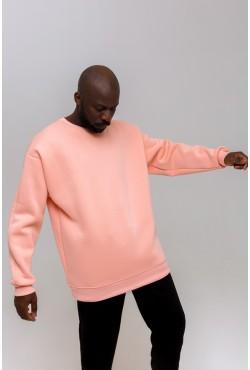 Peachy color OVERSIZE sweatshirt  - Персиковый Свитшот Оверсайз