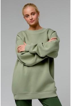 Pistachio color OVERSIZE sweatshirt  - Фисташковый Свитшот Оверсайз