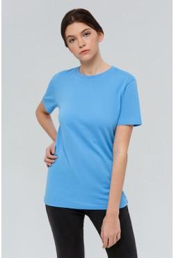 Голубая футболка Унисекс