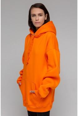Orange hoodie OVERSIZE  - Оранжевая Толстовка Оверсайз